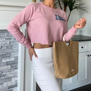 Abercrombie and Fitch Cropped Sweatshirt